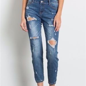 Urban Chic Distressed Premium Jeans